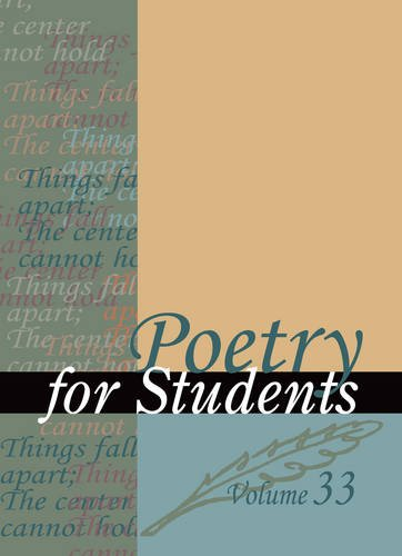 9780787660376: Poetry for Students, Vol. 18