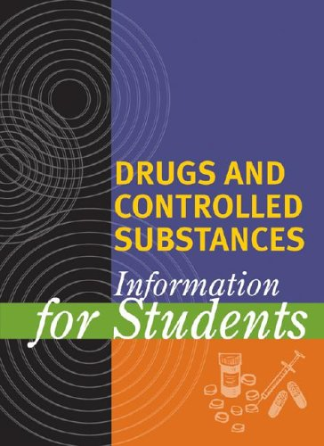 9780787662646: Drugs and Controlled Substances Information for Students