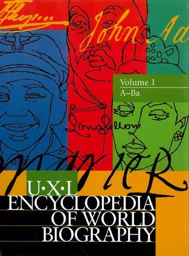Uxl Encyclopedia of World Biography (Hardback): Gale Group, Laura B Tyle