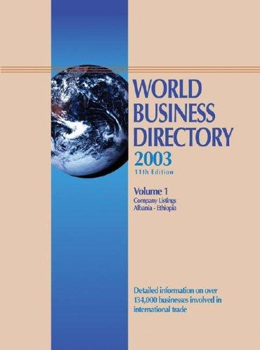 9780787664886: World Business Directory 11 4v Set