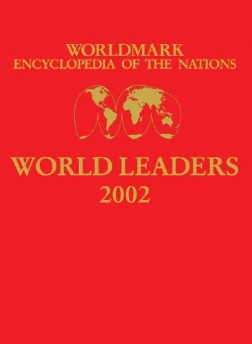 9780787666101: Worldmark Encyclopedia of the Nations World Leaders 2002