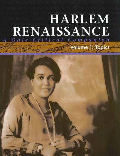 Harlem Renaissance: A Gale Critical Companion (Hardback): Gale Group