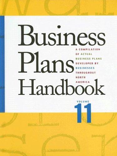 9780787666811: Business Plans Handbook