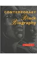 Contemporary Black Biography (Hardback): Ralph Zerbonia