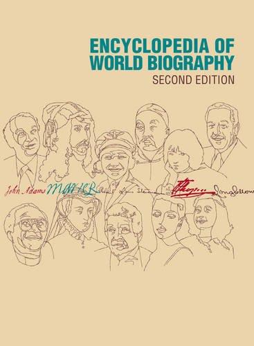 24: Encyclopedia of World Biography: 2004 Supplement: Andrea Henderson
