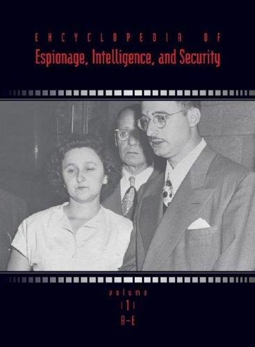 9780787675462: Encyclopedia of Espionage, Intelligence and Security