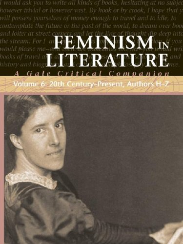 Feminism in Literature: A Gale Critical Companion (Hardback): Farris Naff Clay, Jessica Bomarito
