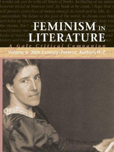 Feminism in Literature: A Gale Critical Companion (6 volume set): Bomarito, Jessica