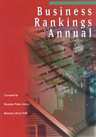 9780787678579: Business Rankings Annual