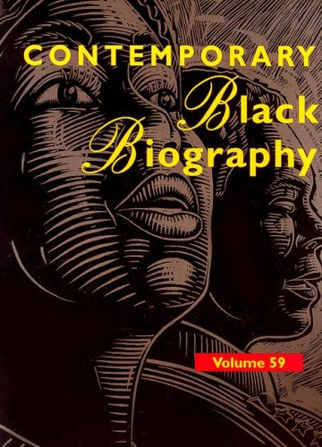 Contemporary Black Biography: Profiles from the International: Sara Pendergast, Tom