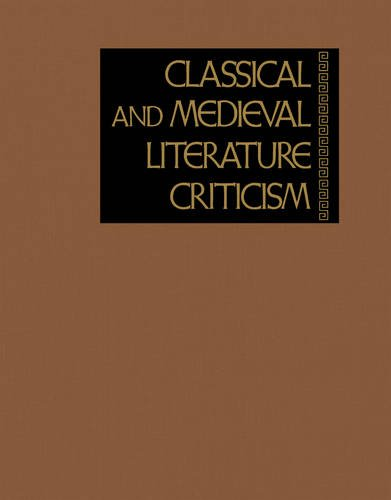 9780787680268: Classical and Medieval Literature Criticism