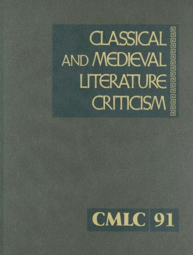 Classical and Medieval Literature Criticism: Krstovic, Jelena