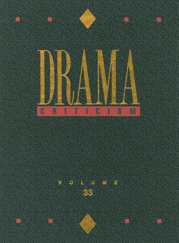 9780787681173: Drama Criticism: Excerpts from Criticism of the Most Significant and Widely Studied Dramatic Works
