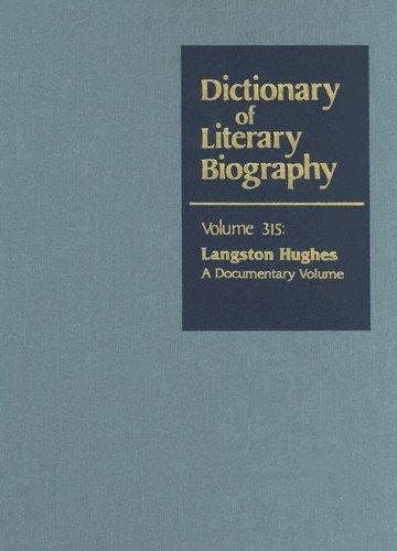 Dictionary of Literary Biography: Langston Hughes: A Documentary Volume: Christopher De Santis