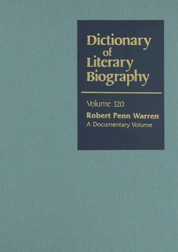 an annotated bibliography on robert penn warren Brooks, cleanth 1906-1994  overview works:  cleanth brooks : an annotated bibliography by john michael walsh  robert penn warren and the baton rouge literary community 1934-1942 by thomas w cutrer ( ) a literary correspondence by cleanth brooks.
