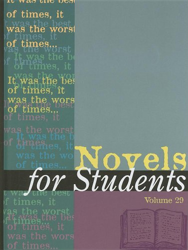 9780787686864: 29: Novels for Students: Presenting Analysis, Context & Criticism on Commonly Studied Novels