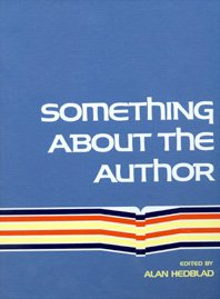 Something About The Author Volume 158: Facts And Pictures About Authors And Illustrators Of Books ...