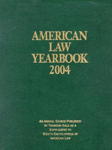 9780787690274: American Law Yearbook 2004