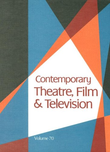 Contemporary Theatre, Film and Television: Steen, Sara J.