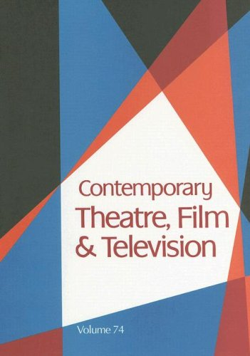 9780787690472: Contemporary Theatre, Film and Television