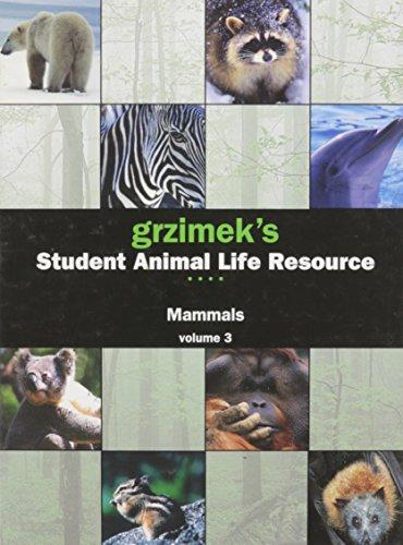 9780787691875: Grzimek's Student Animal Life Resource, Vol. 3