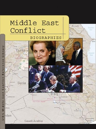 Middle East Conflict: Biographies (Middle East Conflict Reference Library): Pendergast, Sara