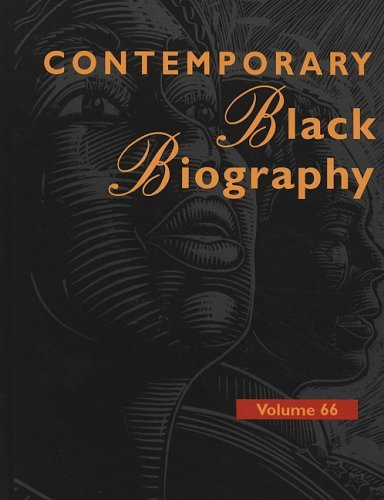 9780787695439: Contemporary Black Biography: Profiles from the International Black Community