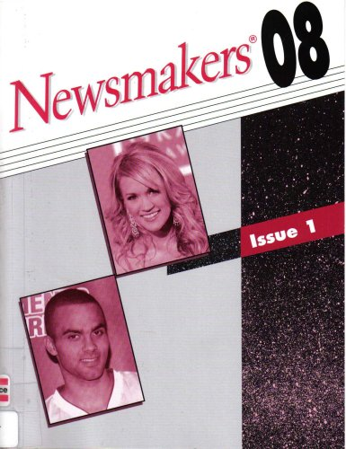 9780787696214: Newsmakers: The People Behind Today's Headlines (Includes Nationality, Occupation, Subject and Cumulative Newsmakers Indexes, Issue 1)