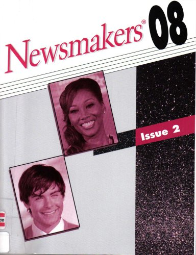 9780787696221: Newsmakers: The People Behind Today's Headlines (Includes Nationality, Occupation, Subject and Cumulative Newsmakers Indexes, Issue 2)