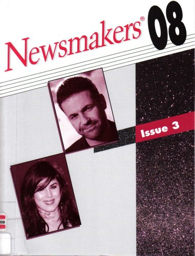 9780787696238: Newsmakers: The People Behind Today's Headlines (Includes Nationality, Occupation, Subject and Cumulative Newsmakers Indexes, Issue 3)