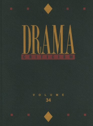 9780787696375: Drama Criticism: Excerpts from Criticism of the Most Significant and Widely Studied Dramatic Works