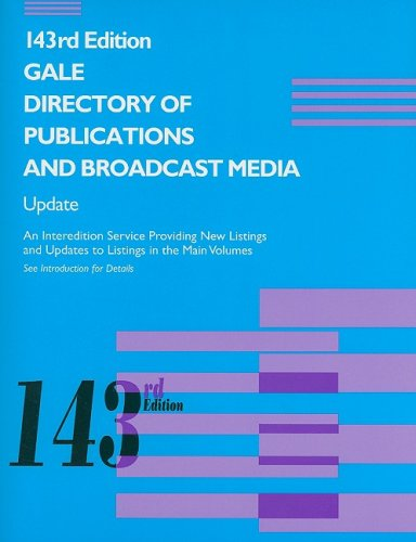 Gale Directory of Publications and Broadcast Media: