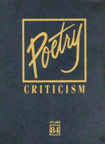 9780787698812: Poetry Criticism