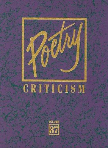 9780787698843: Poetry Criticism