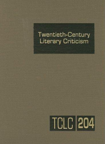 9780787699796: Twentieth-Century Literary Criticism, Vol. 204