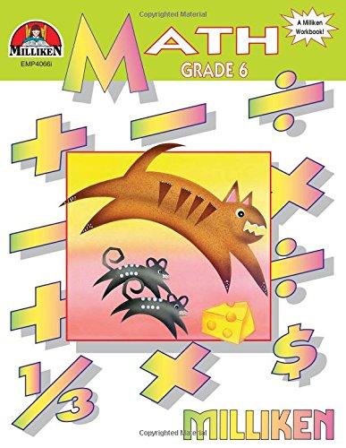 9780787700676: Math Workbook - Grade 6
