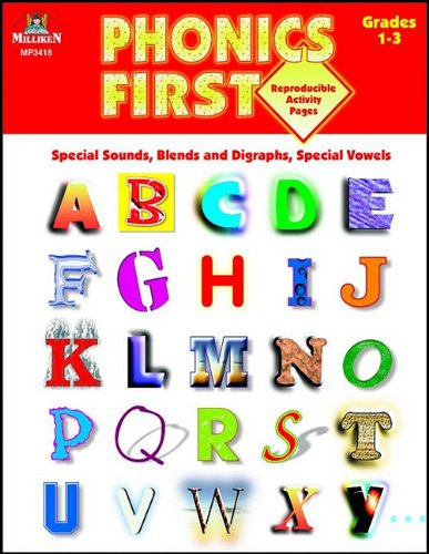 9780787704155: Phonics First, Grades 1-3: Special Sounds, Blends and Diagraphs, Special Vowels (Phonics First (Milliken))
