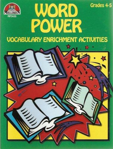 Word Power (Vocabulary Enrichment Activities, Grades 4-5)