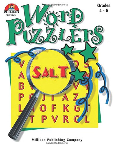 Word Puzzlers - Grades 4-5: Wolff, Jean