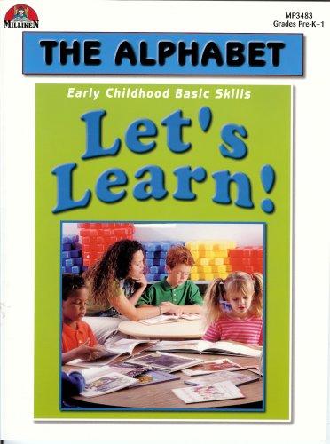 9780787705756: Let's Learn! The Alphabet: Early Childhood Basic Skills, Grades PreK-1