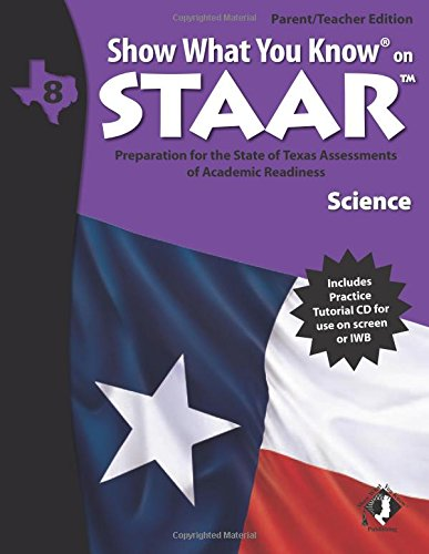 9780787707262: SWYK on STAAR Science Gr 8, Parent/Teacher Edition (Show What You Know on Staar)