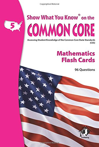 9780787707576: SWYK on the Common Core Math Gr 5 Flash Cards