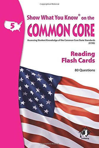 9780787707583: SWYK on the Common Core Reading Gr 5 Flash Cards