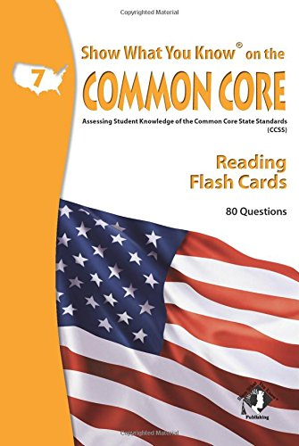 9780787707620: SWYK on the Common Core Reading Gr 7 Flash Cards