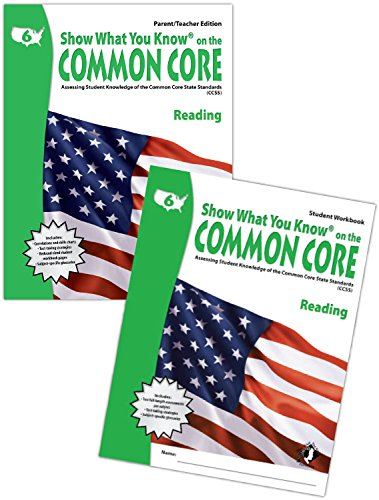 SWYK on the Common Core Reading Gr 6, Workbook Kit: Assessing Student Knowledge of the Common Core ...