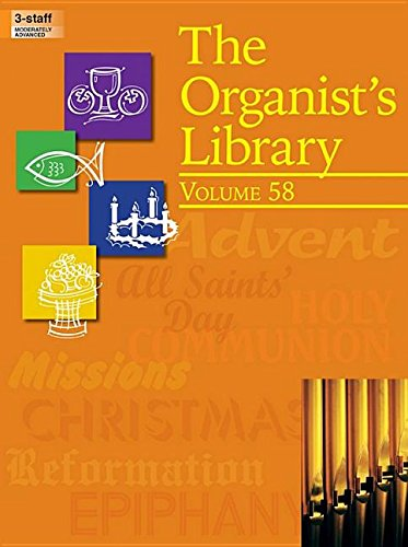 9780787713676: The Organist's Library, Vol. 58