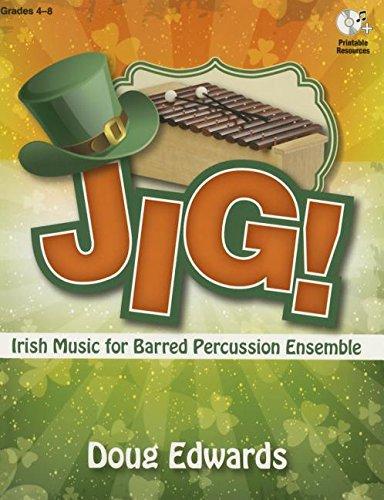 9780787713737: Jig!: Irish Music for Barred Percussion
