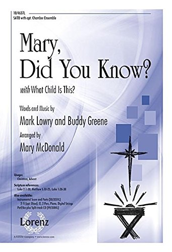 9780787714260: Mary, Did You Know?: With What Child Is This?