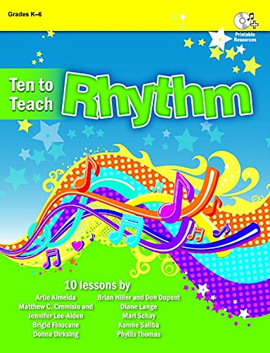 Ten to Teach Rhythm (Paperback): Artie Almeida