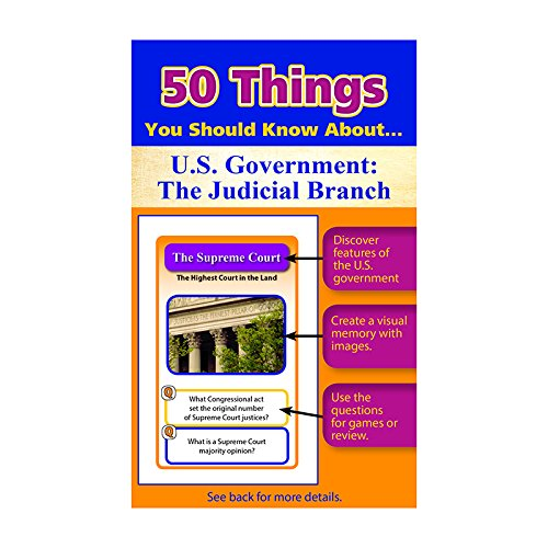 9780787716417: 50 Things You Should Know about U.S. Government: The Judicial Branch